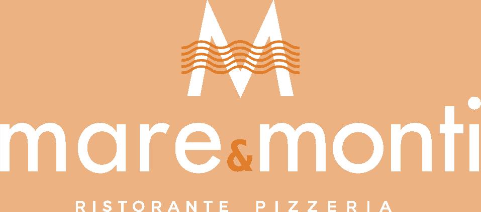 Mare e Monti logo negative mare e monti ristorante pizzeria